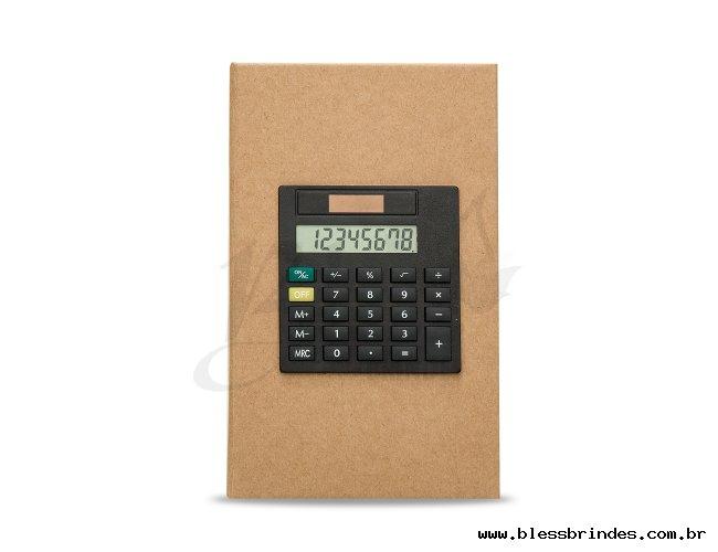 Bloco de Anotações com Calculadora  Descrição