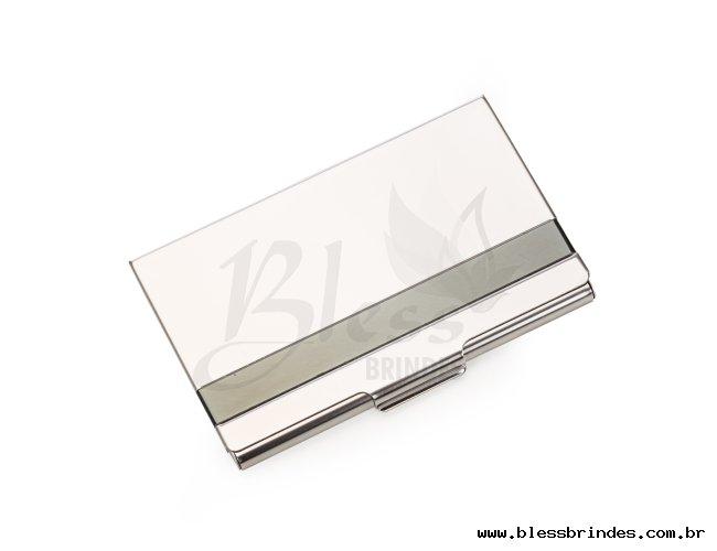Porta Cartão Inox
